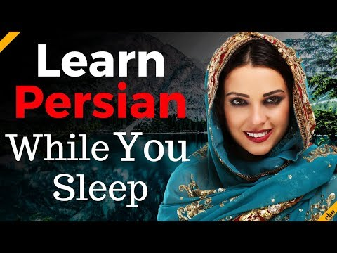 Learn Persian While You Sleep 😀  Most Important Persian Phrases and Words 😀 English/Persian (8 Hour)
