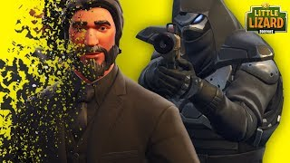 ENFORCER KILLS JOHN WICK - FORTNITE SHORT FILMS
