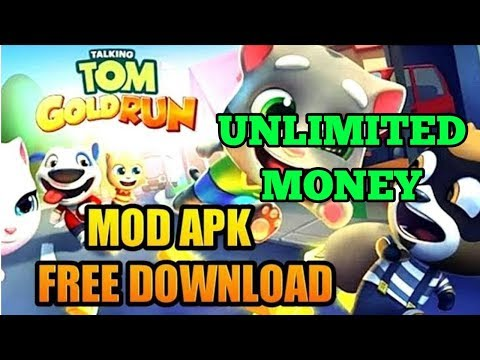 How to install my talking tom gold run mod apk - смотреть