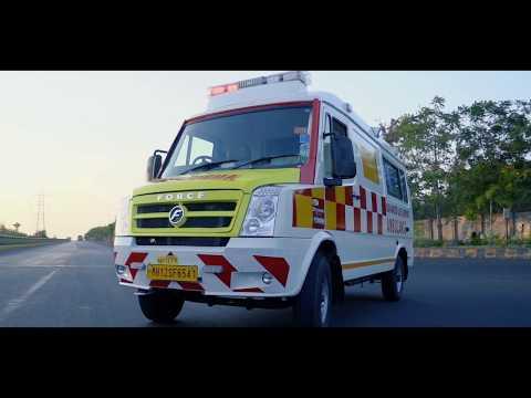 Force Tempo Traveller Ambulance