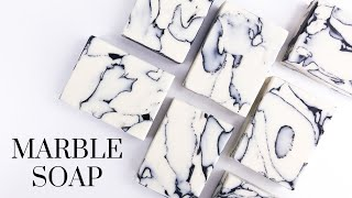 Marble Soap Technique | Cold Process Soap Making