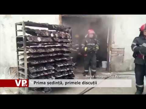 Incendiu la o hală de vopsele și diluanți