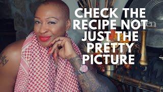 Check The Recipe