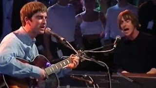Oasis & Paul Weller - Talk Tonight (Live)