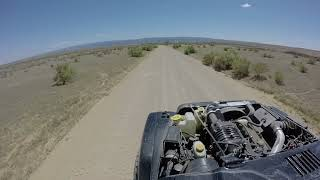 Some dirt-road fun in a Boosted Technologies Supercharged 4.0 Wrangler!