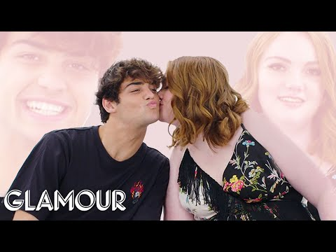 Noah Centineo and Shannon Purser Try to Explain How They Met | Glamour