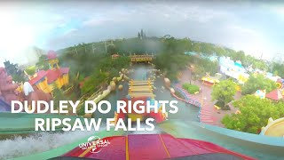 Ride Dudley Do Rights RipSaw Falls from Home