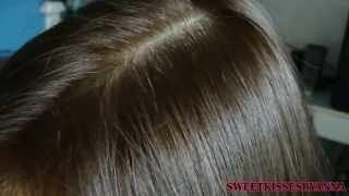 Revlon Colorsilk In Lightest Golden Brown #57: On Dark Hair