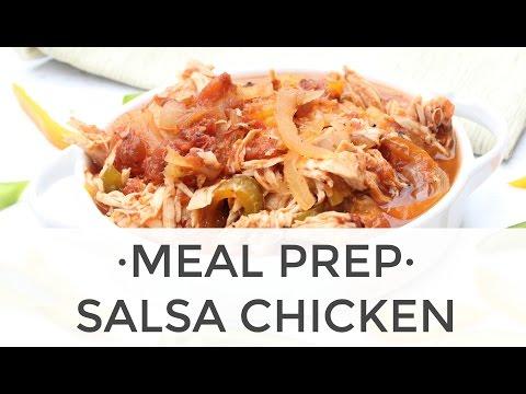 Slow Cook Salsa Chicken Recipe (3 ways!) | Meal Prep Ideas