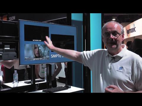 NAB 2017: Increased bandwidth efficiency with DVB-S2X and HEVC