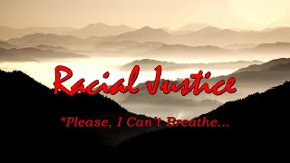 Inspirational Quotes | Racial Justice | Please I Can't Breathe