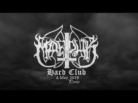 "Marduk - ✠ "" Live @ Hard Club Porto 2019 """