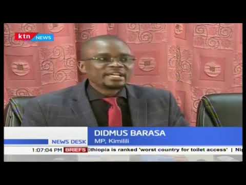 lets not make men lazy,if you are a man go and campaign and win a seat says Didmus Baraza