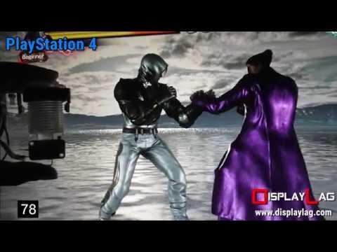 Input Lag Test: Tekken 7 ver. 1.10  – PlayStation 4