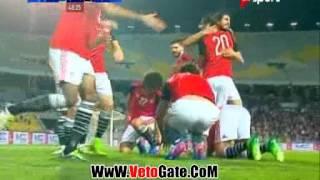 الهدف الاول مصر فى توجو - محمود كهرباء