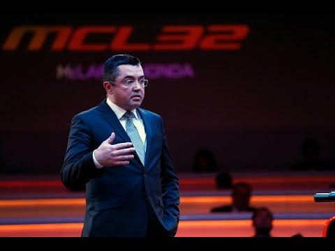Q&A Eric Boullier | MCL32 Reveal
