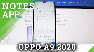 How To Add Notes In OPPO A9 2020 - Set Up OPPO Reminder