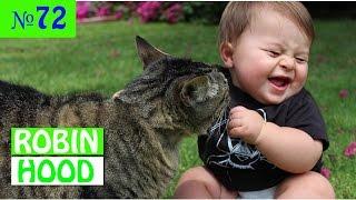 ПРИКОЛЫ 2017 с животными. Смешные Коты, Собаки, Попугаи // Funny Dogs Cats Compilation. Март №72