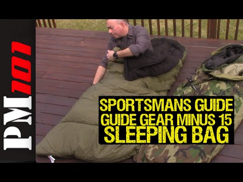 "Guide Gear Minus 15 Sleeping Bag ""Trust Me"" Review – Preparedmind101"
