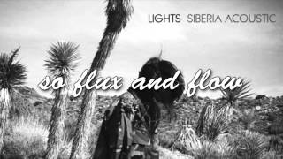 LIGHTS! -  Flux & Flow [acoustic] (LYRICS)