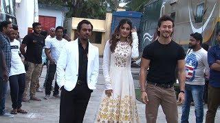Tiger Shroff And Nidhhi  Agerwal  Promote Munna Michael On The Sets Of Sa Re Ga Ma Pa Lil Champs