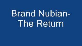 Brand Nubian-The Return