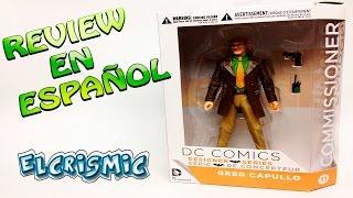 Comisionado Gordon DC Collectibles Designer Greg Capullo  Series Batman Review Español ElCrisMic