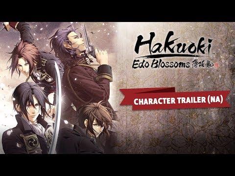 Hakuoki: Edo Blossoms Character Trailer (NA) thumbnail