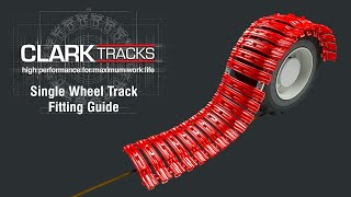 How to Fit Clark Single Wheel Tracks Video