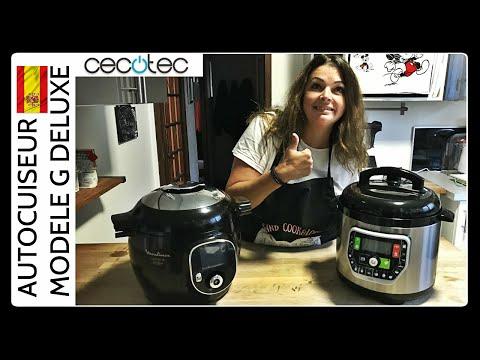 CECOTEC MODELE G DELUXE CONCURRENT DU COOKEO (Sand Cook&Look)