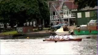 preview picture of video '99  Molesey Regatta Womens Fours'