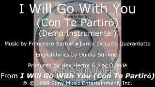 "Donna Summer - I Will Go with You (Demo Instrumental) LYRICS - HQ ""I Will Go with You"" 1999"