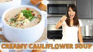 Super Creamy Cauliflower Soup