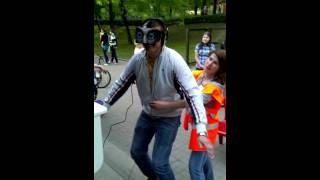 Виртуальная реальность в парке