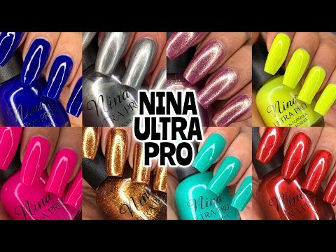 Nina Ultra Pro Nail Polish Review + Swatches PLUS GIVEAWAY