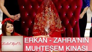 Zuhal Topal'la 90. Bölüm (HD) | Erkan ve Zahra'ya Canlı Yayında Muhteşem Kına Gecesi!