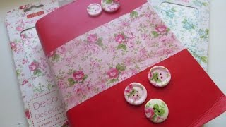 Cheap and Chic: Decoupage Buttons and More!