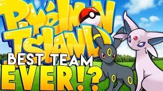 THE BEST POKEMON TEAM - Minecraft Pixelmon Island - Pokemon Mod