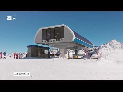 Skifahren im Bergsteigerdorf in Vent 2020