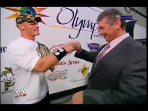Vince McMahon pulling out his N-Word Pass
