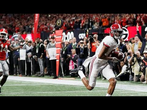 Alabama Game Winning Touchdown | 2018 CFP National Championship