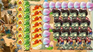 Wasabi Whip, Toadstool and Starfruit - Plants vs Zombies 2