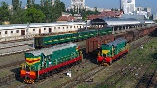 Тепловоз ЧМЭ3. Суровый обзор с покатушками и мохом // The stern review of the locomotive