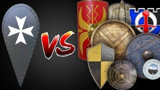 The Kite Shield vs ALL OTHER SHIELDS FROM HISTORY!