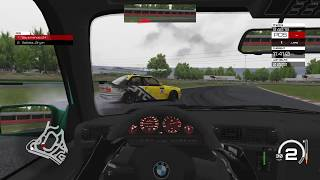 Assetto Corsa Online Drifting: Trying to teach Bryan how to drift.