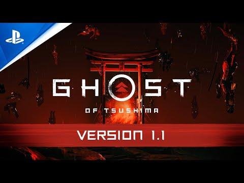 Nouveautés Version 1.1 : Legends, New Game+ de Ghost of Tsushima