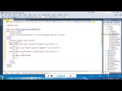 Easy way to learn AngularJs - YouTube