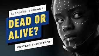 Avengers: Endgame Posters Shock Fans - Shuri, Valkyrie, Loki and More! - IGN Now