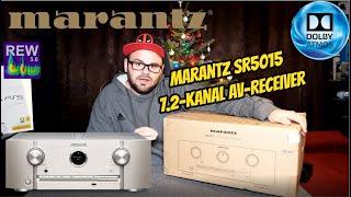 Marantz SR5015 7.2-Kanal AV-Receiver / Review / Test / Unboxing / Messung