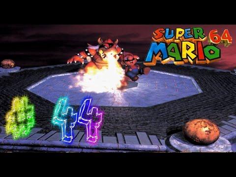 Let's Play Super Mario 64 German Part 44 - Mit den Regenbogenteppich durch den Regenbogen!